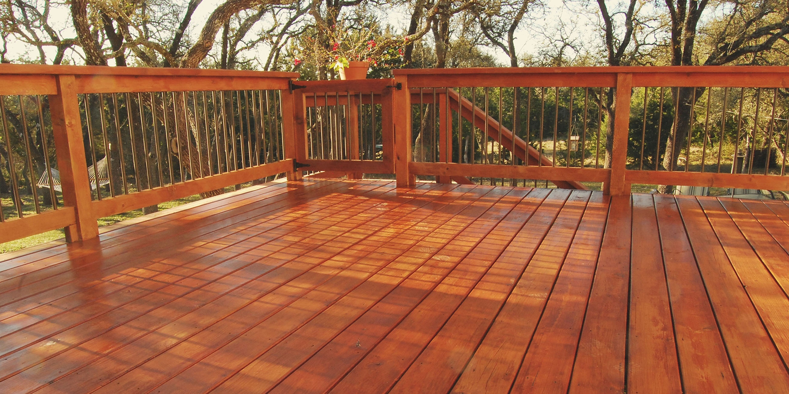 How to Stain Your Deck The Paint