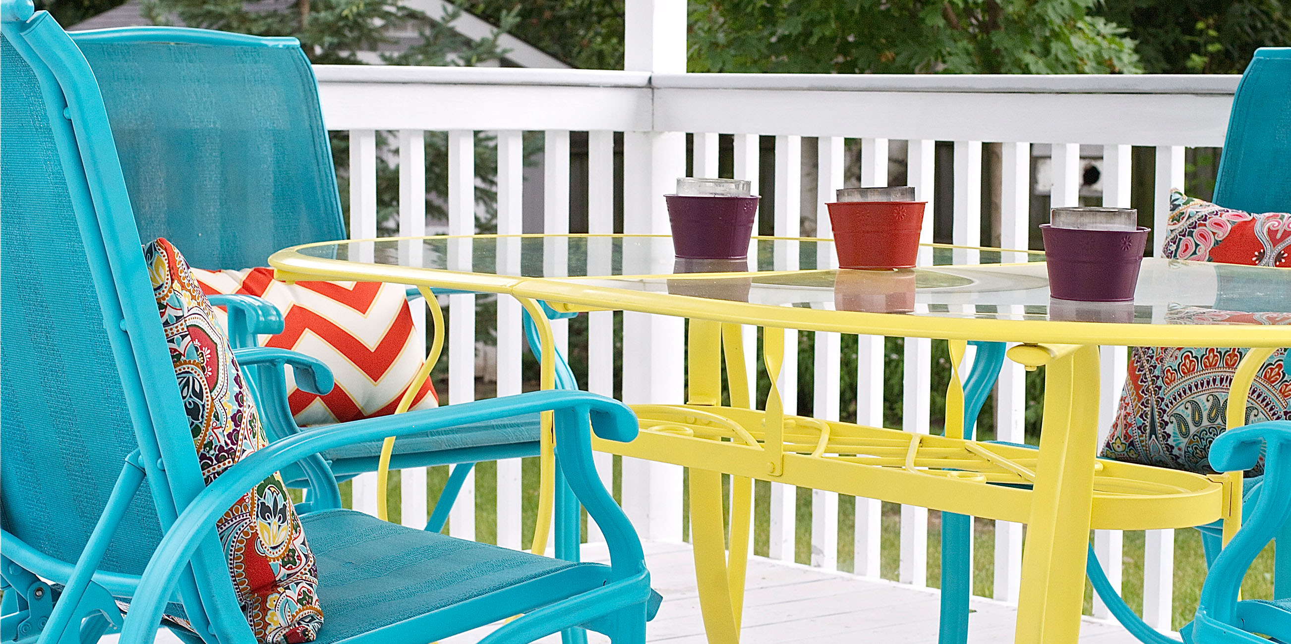 Easy Color Makeovers For Your Outdoor Furniture